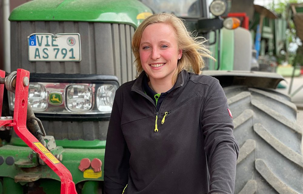 Menschen aus Kempen – Carolin Schleupen – Landwirtin