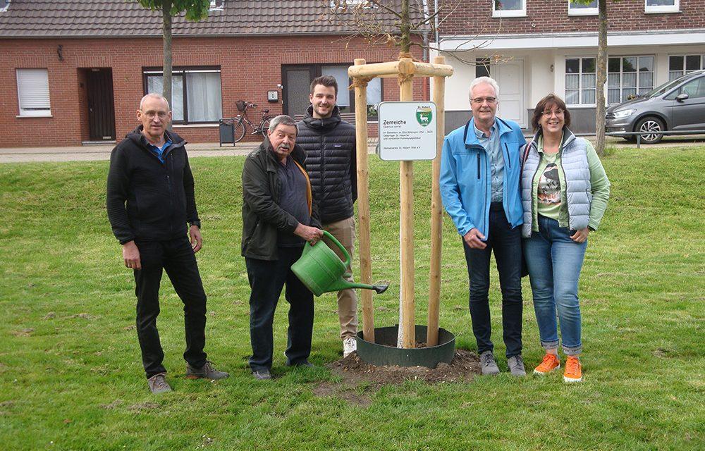 Baumspende in Erinnerung an Otto Birkmann
