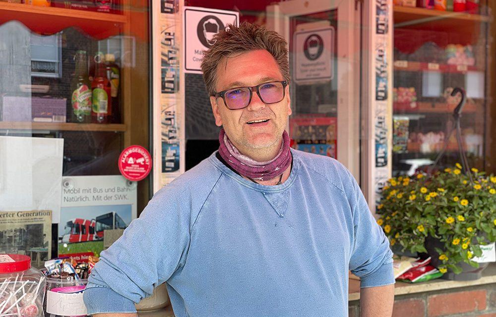 Kiosk am Ortseingang – seit 17 Jahren im Besitz von Frank Lorenzen