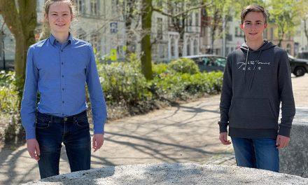 Lukas Weghs gewinnt bei Jugend forscht