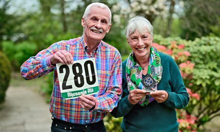 Olympia-Teilnehmer Paul Angenvoorth und seine Frau Manuela