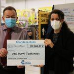 Über 30.000 Euro aus Pfandbons für action medeor