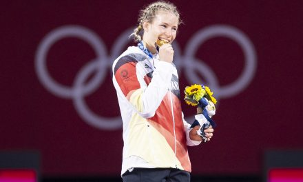 Gold für Rotter-Focken bei Olympia