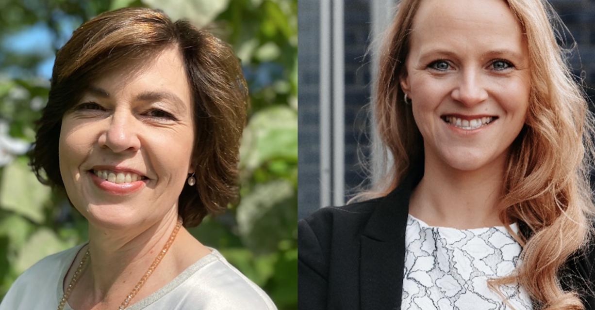 Karin Kretzer und Johanna Muschalik-Jaskolka sind Sprachrohr