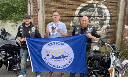 Motorradfreunde unterstützen Verein Traumfänger